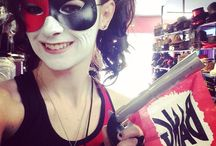 Harley Quinn--that's me! / Love this character and we have the same name!  This board has her, Mista J, and Ivy!