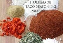 Recipes - Seasoning Mixes