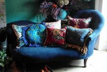 Bohemia / nouveau bohemian fashion, lace, tassels, paisley, fringe