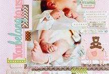 Scrapbooking - Baby / Layouts with babies and young children