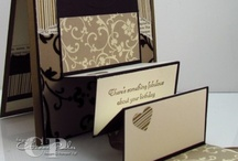 Fancy Fold Cards with Catherine Pooler  / Fancy folds and moving cards to make with Stampin' Up products.