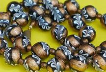 Vintage Glass Beads / Venetian, Bohemian & other types of crazy rare beads.