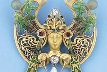 Art Nouveau Jewellery / Jewellery from one of my favourite time periods.