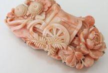 Vintage Coral Jewellery