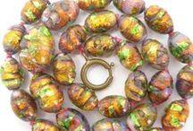 Vintage Opalescent Foil Jewellery