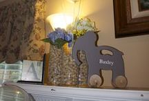 Eventspiration-Baxley Cole's Elephant Shower / Baby shower for JMFD  / by Just Save the Date Event Planning and Design