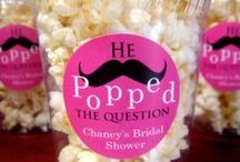 Bridal & Wedding shower ideas  / Games, prizes, food decorations and Gifts  / by Karen Kozacheck