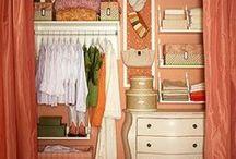 Organized CLOSETS / Closets make me happy!