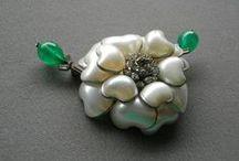Gripoix, Poured Glass Jewellery
