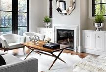 Staged Living Rooms
