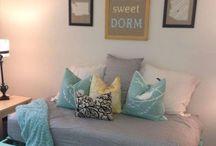 Dorm Room Staging