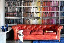 Bookshelf Staging
