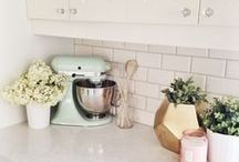 Home Decor - Kitchen / Always lots going on in the kitchen! Here's how to make it look good, no matter what's cookin'.