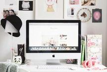 Home Decor - Office / How is your little home office? Here's some inspiration to make it better.