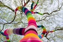 Inspiration :: Yarn Art / Yarn bombing, art pieces, and other amazing feats with yarn, string, and fiber.