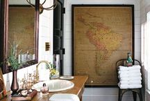 #powder rooms / by Susan Stratton
