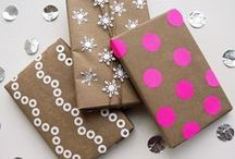 Packaging & gift-wrapping / 'cause any gift is that much more beautiful an exciting, when it is beautifully wrapped!