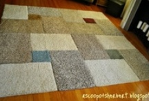 Floor It! / Ideas for flooring mostly DIY including rugs / by The Crooked Nose