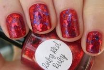 Inspiration - Nail Art / Nail art, jolis vernis ou carrément improbables...