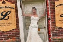 Rina di Montella Real Brides / Real Weddings Real Brides #Wedding Gowns