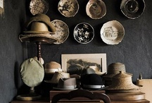 "A Thing for Hats - Vintage / I do have ""A Thing for Vintage Hats""  they add a personal touch to decor. / by Gail Olds"