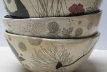 bowls, plates and mugs / by Kate Falk