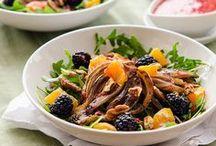 Recipe: vegan salads / by Christine Zenthoefer