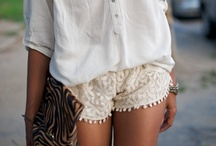 Shorts; rompers.. / by Maria Florencia Cortez