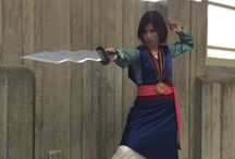 Cosplay - Mulan & Shan Yu / This costume has been in the planning stages for years. Pinned: tutorials, reference images, inspiration.