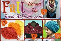 Round up Round up! / A collection of pattern round ups ~ these are crochet heavy, but there is the occasional knit pattern thrown in. Most of the patterns in these round ups are free.