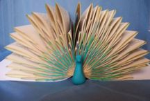 Book Crafts / Up-cycling and re-purposing books. Ideas, how to and book list.