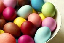 Holidays - Easter / Bunnies, chicks, eggs and pastels – look here for traditional and non-traditional decorating ideas for this spring holiday!