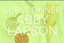 GUEST PINNER: ABBY LARSON / Abby Larson of 'Style Me Pretty' shares her favorite DIYs with TODAY.