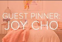 GUEST PINNER: JOY CHO / Designer, blogger and food enthusiast Joy Cho shares some of her favorite recipes, DIYs, crafts and home decor with TODAY.