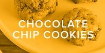 CHOCOLATE CHIP COOKIES / All sorts of ooey, gooey chocolate chip cookie recipes. Get baking!