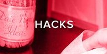 HACKS / This board is dedicated to the best DIY projects to solve all the life hacks you can think of.