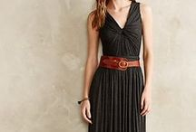 Comfortably Glam and Casually Elegant / Wear it to work, wear it to the theater, be comfortable.