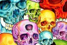Skulls / sugar skulls