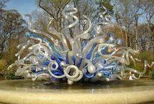 ART - Hand-Blown Glass / Unbelievable hand-blown glass.  / by Debbie Dumont