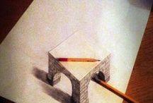ART - 3D Pencil Drawings / by Debbie Dumont