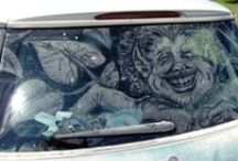 ART - Dirty Car Painting / by Debbie Dumont