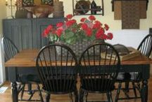 DINING ROOMS/EATING AREAS / by Debbie Dumont