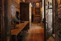 ENTREZ VOUS / Entryways, Foyers, Mud Rooms, Hallways and Doorways. / by Debbie Dumont