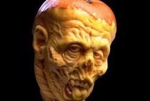 ART - Pumpkin Carvings / by Debbie Dumont