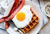 BREAKFAST & BRUNCH / delicious breakfast and brunch recipes. waffles, pancakes, eggs, breads, muffins. the best part of waking up! / by Blogging Over Thyme | Laura Davidson