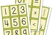 School-y: Math / Math activities, number recognition, helps and tutoring