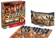 Stratego / Two armies clash…who will be victorious? Two players command armies and devise plans to deploy troops, using strategic attacks and clever deception to break through the opponent's line and capture the flag! #battle #strategy #strategygame #war #capturetheflag #boardgame
