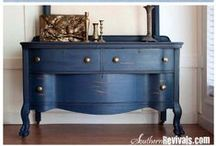 DIY - Furniture / Ideas on how to modify, restore or reinvent furniture. What products to use and a collection of tutorials. / by Lisa Wood