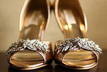 Shiny Wedding Shoes