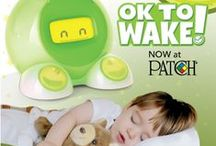 """OK to Wake! / Picture this: It's Saturday morning, and you're sleeping peacefully when suddenly you're not…your child has just jumped in your bed demanding you get up! Well, OK to Wake!™ clocks and nightlights were designed by a parent to solve this sleep-depriving problem!  The OK to Wake! green light is a simple, visual indicator that informs toddlers when it's time to get up. Children quickly learn to go back to sleep or play quietly in their room until """"green means go!"""""""